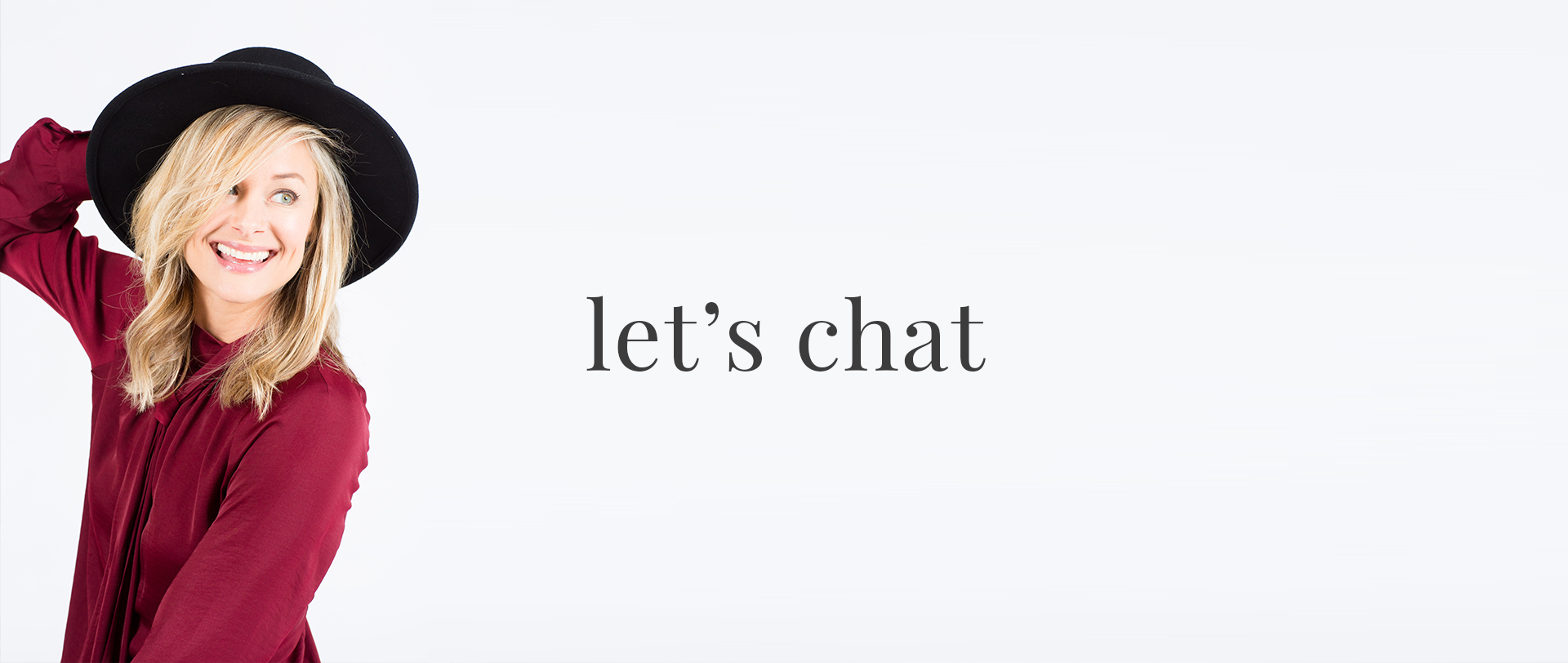Let's Chat Header Image