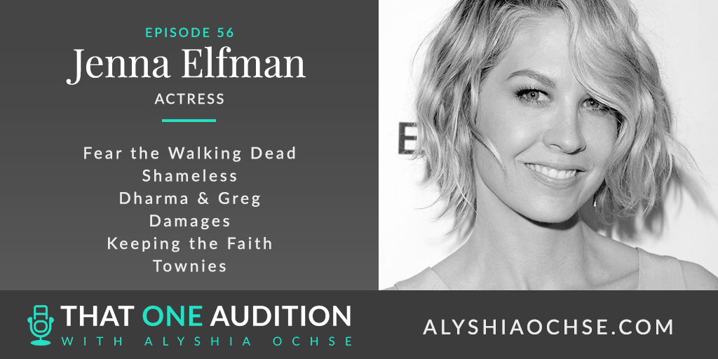 Jenna Elfman on That One Audition with Alyshia Ochse - Thumbnail